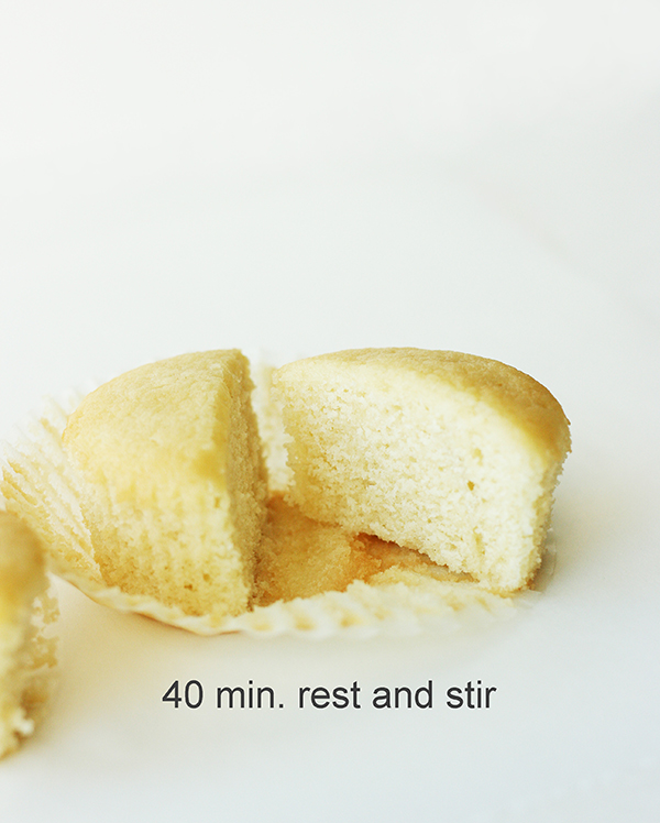 Do your cupcakes need a rest?  How resting time affects cupcake batter.    by Summer Stone for TheCakeBlog.com