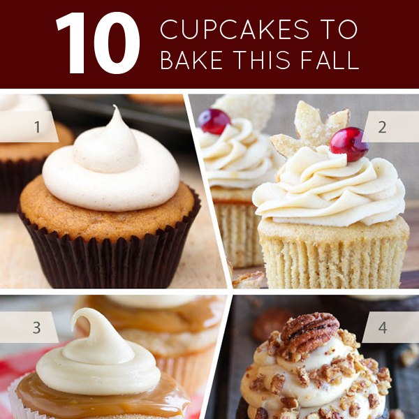 10 Cupcakes to Bake this Fall