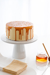 Honey Butter Cake | by Carrie Sellman for TheCakeBlog.com