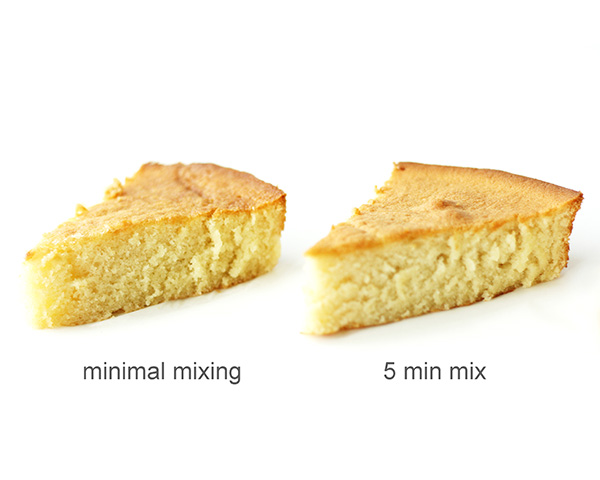 What happens when you overmix cake batter? | Mix Until Just Combined | by Summer Stone for TheCakeBlog.com