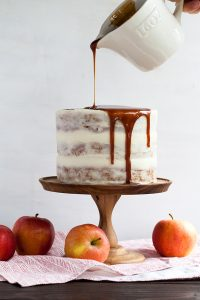 Apple & Goat Cheese Cake