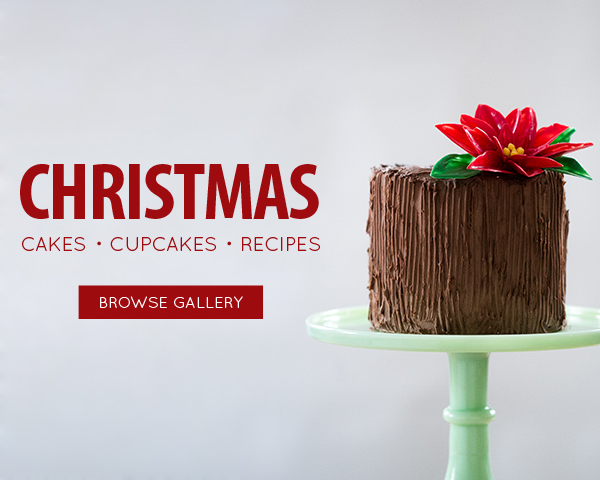 Christmas Cake Recipes, Tutorials and DIYs on TheCakeBlog.com