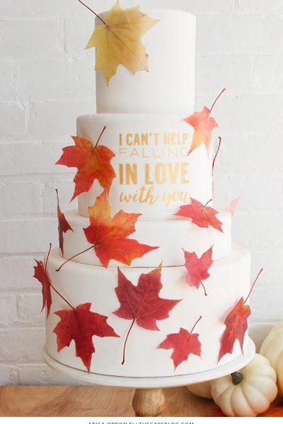 Falling In Love Cake
