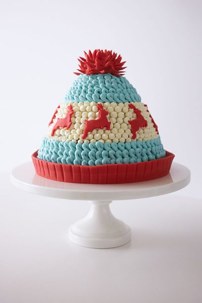 Winter Hat Cake