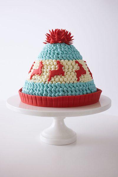 Winter Hat Cake