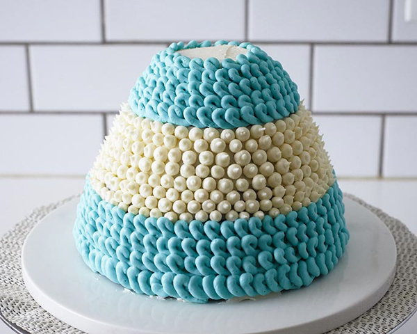 Winter Hat Cake Learn How To Make This Cozy Cake That Looks Just Like A Step
