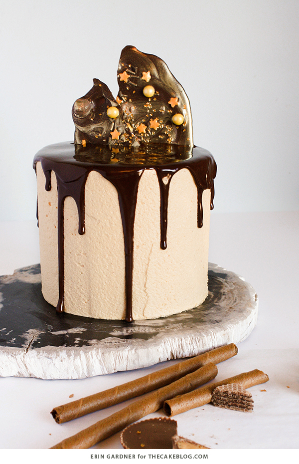 How To Make A Drippy Chocolate Cake