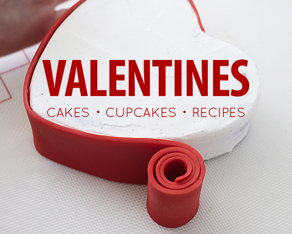 Valentine's Day Deserts - cake recipes, cupcakes recipes, tutorials and more on TheCakeBlog.com