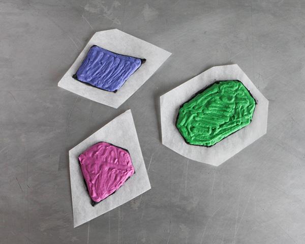 You're A Gem Cake with buttercream transfer tutorial | by Erin Gardner for TheCakeBlog.com
