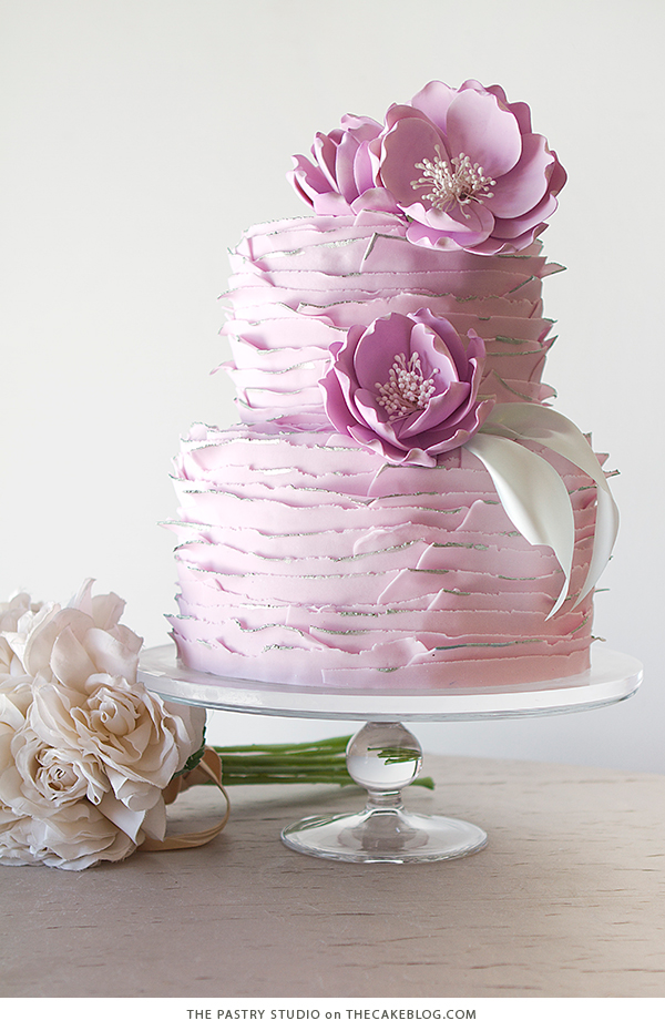10 Floral Cakes for Spring | including this design by The Pastry Studio | on TheCakeBlog.com