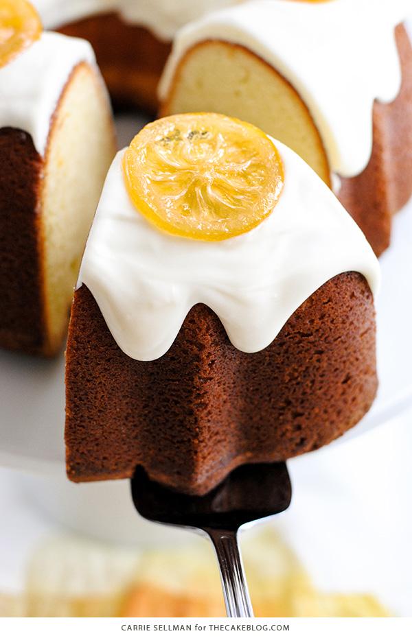 Lemon Bundt Cake | The Cake Blog