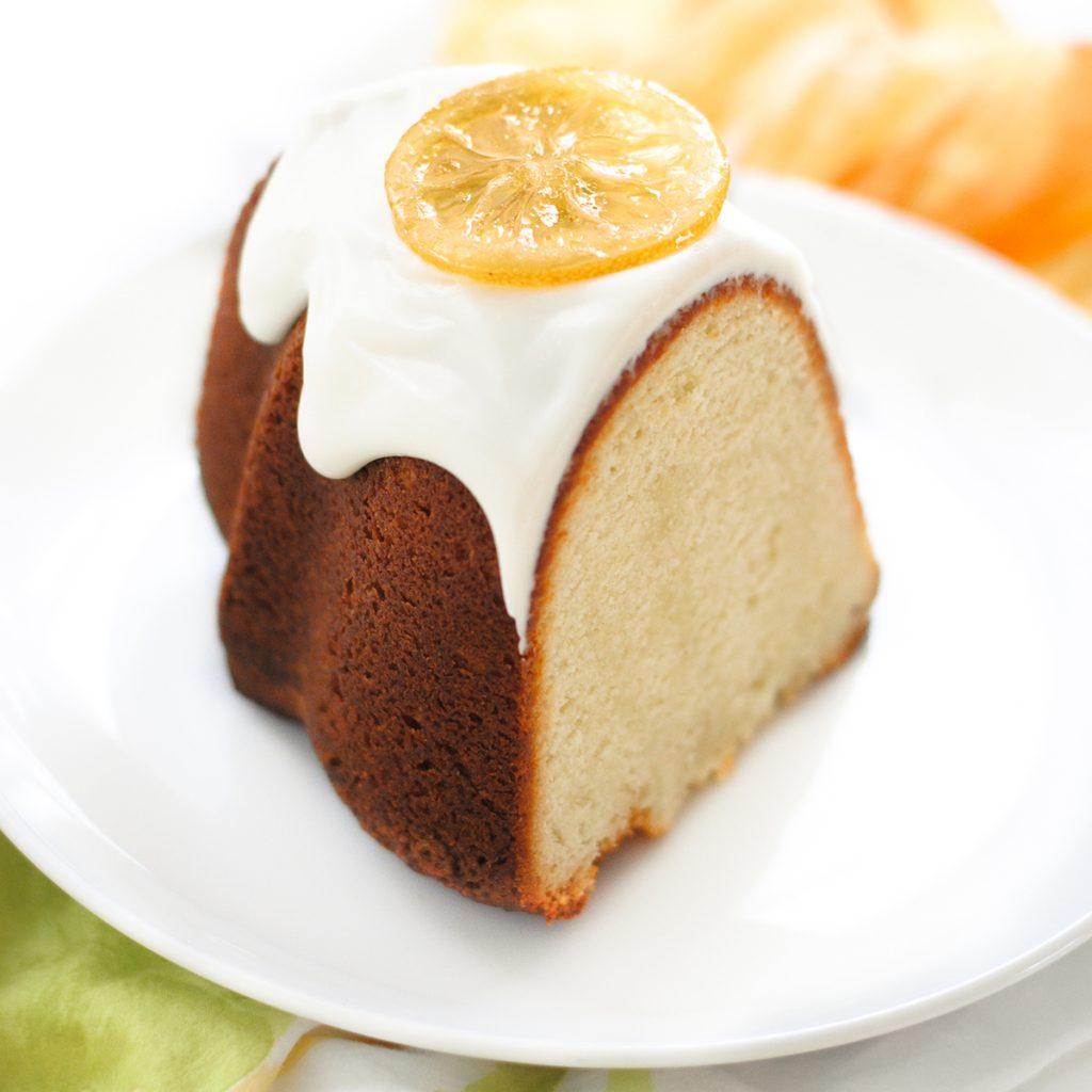 Candied Lemon Bundt Cake