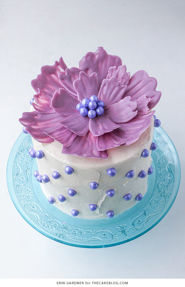 How To Make A Flower Shaped Birthday Cake