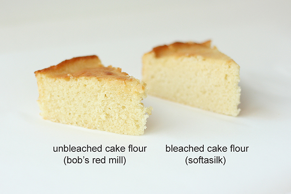 Difference Cake Flour Vs All Purpose