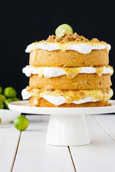 Key Lime Pie Cake
