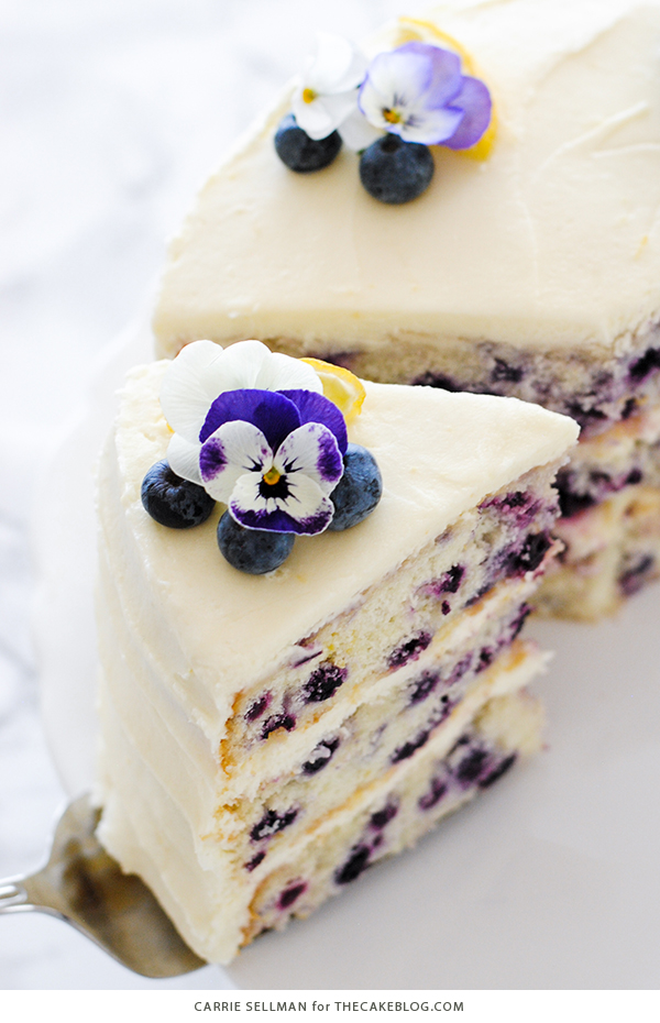 Best of 2018 - Lemon Blueberry Cake | Reader favorites on TheCakeBlog.com