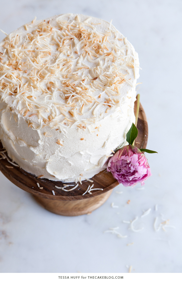 Coconut Tres Leches Cake | by Tessa Huff for TheCakeBlog.com