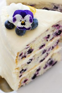 Make Blueberry Cake Filling Recipe