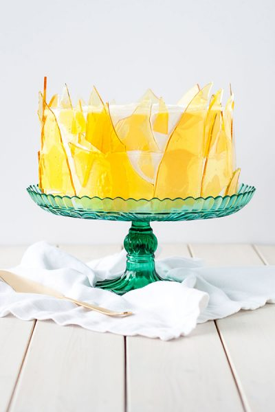 Creme Brûlée Cake