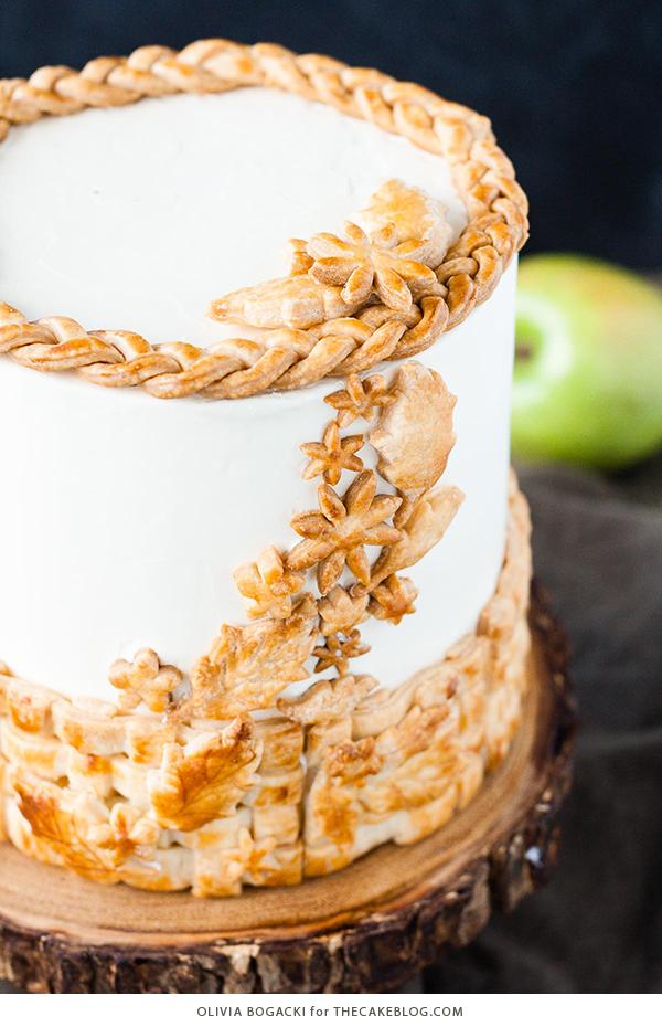 Apple Pie Cake The Cake Blog