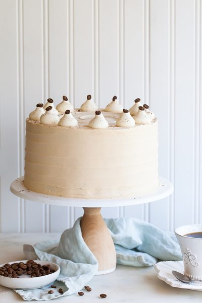 Caramel Cappuccino Cake