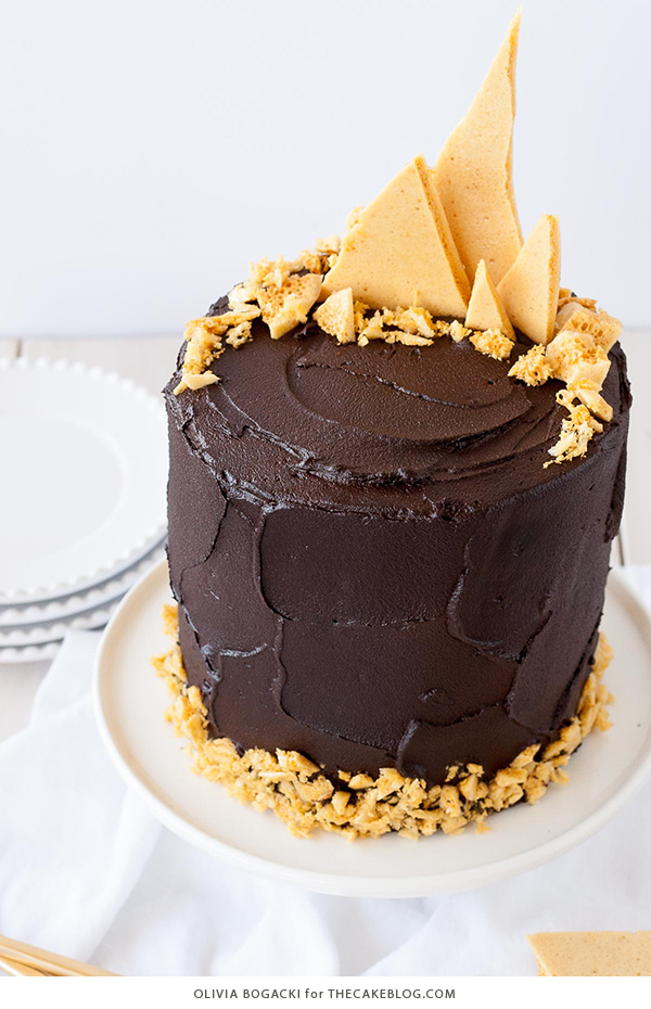 3 layer dark chocolate cake recipe
