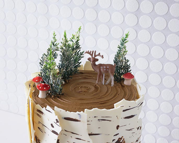 Birch Log Cake Learn How To Make This Wintry That Looks Just