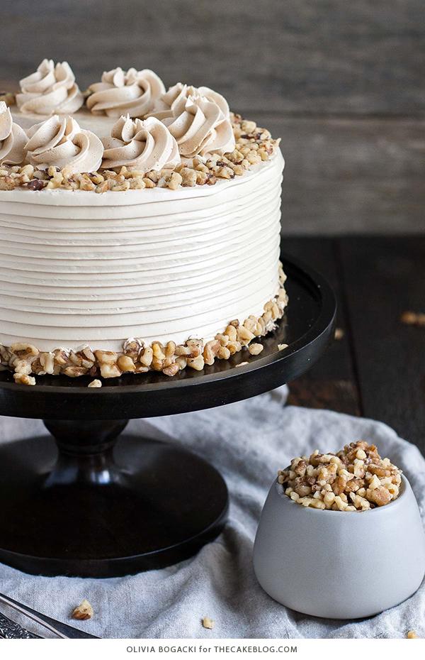 Walnut Cake The Cake Blog