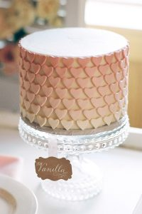 Pink Rose Dessert Table Inspiration | by Intricate Icings on TheCakeBlog.com