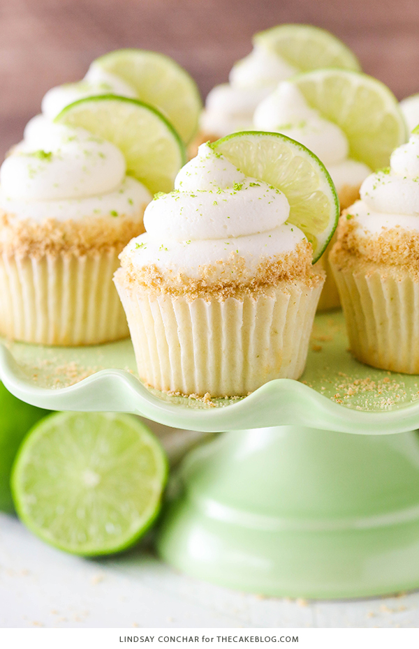 Best of 2018 - Key Lime Cupcakes | Reader favorites on TheCakeBlog.com