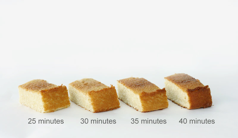 Baked to Perfection - how baking time affects cake moisture and structure | by Summer Stone for TheCakeBlog.com