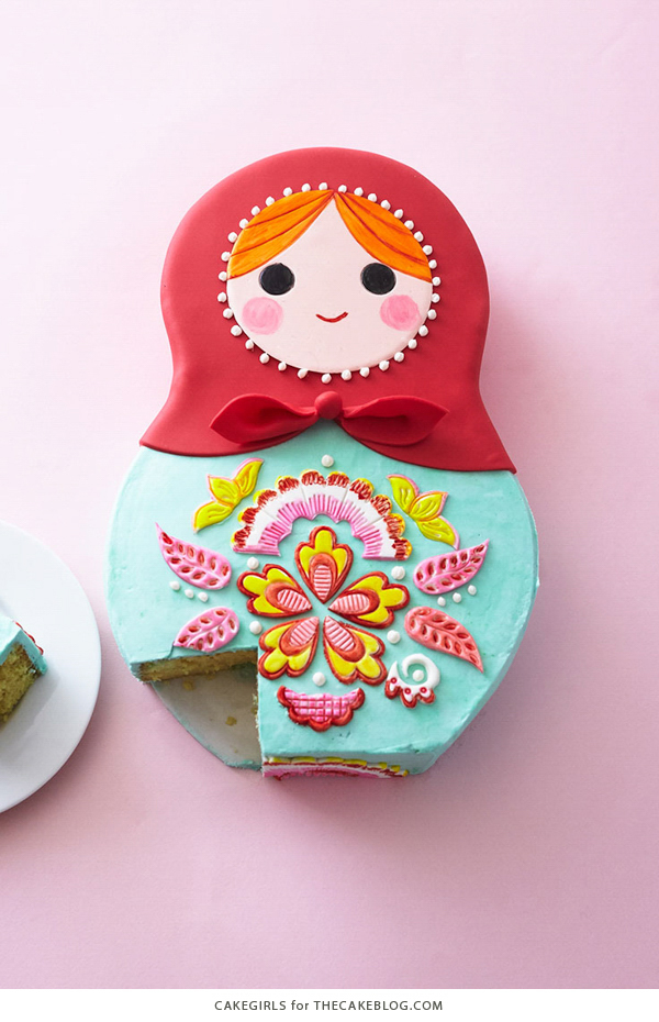 How to make a Russian nesting doll cake | by Cakegirls for TheCakeBlog.com