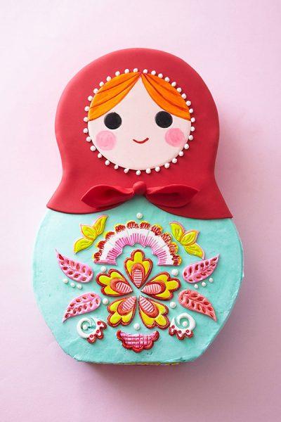 Russian Nesting Doll Cake