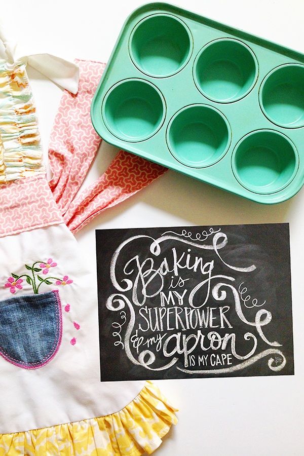 Baking Is My Superpower Print | by Jessica Kirkland for TheCakeBlog.com