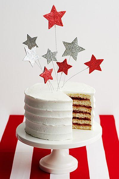 Stars and Stripes Cake | by Cakegirls for TheCakeBlog.com