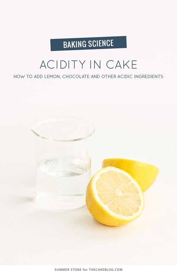 Acidity In Cake The Cake Blog