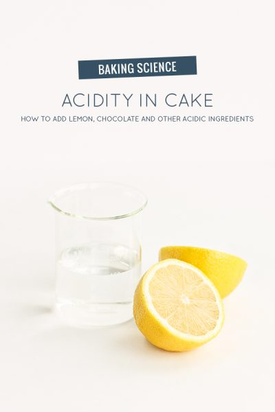 Acidity In Cake
