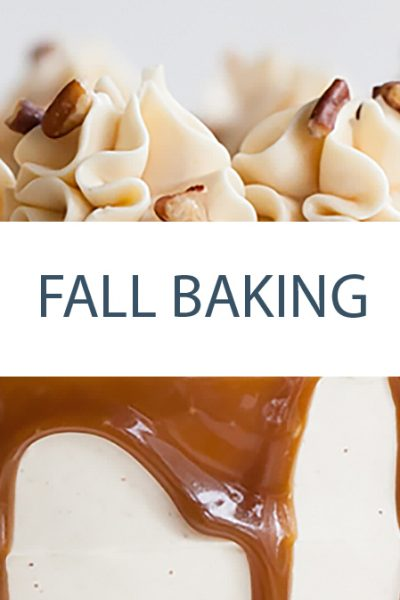 Fall Baking Gallery - Cake Recipes, Cupcake Recipes and more on TheCakeBlog.com