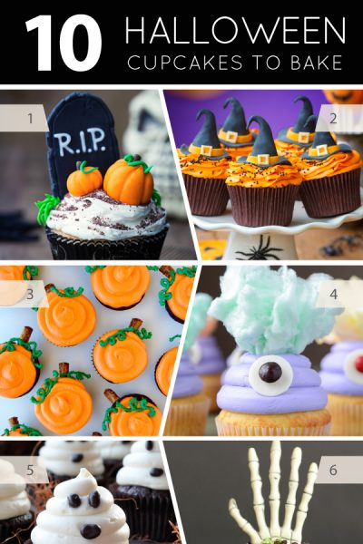 10 Halloween Cupcakes to Bake