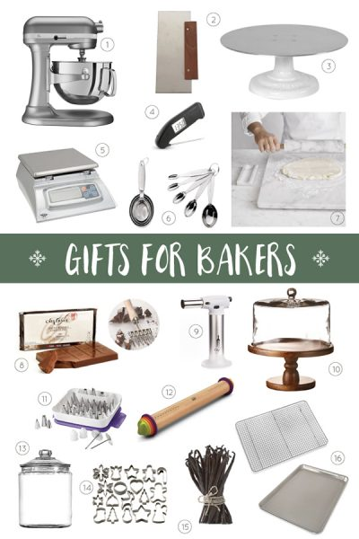 2017 Holiday Gift Guide for Bakers