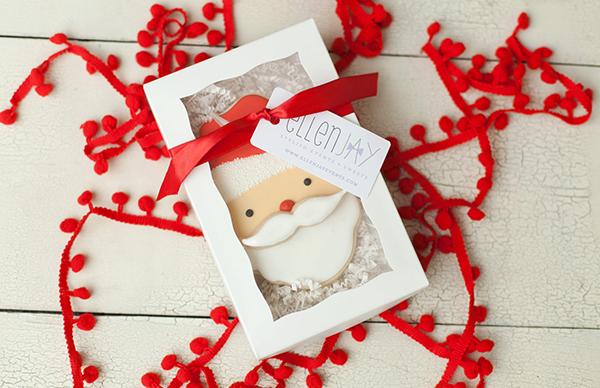 Seasonal holiday cookies from ellenJAY, with online ordering!