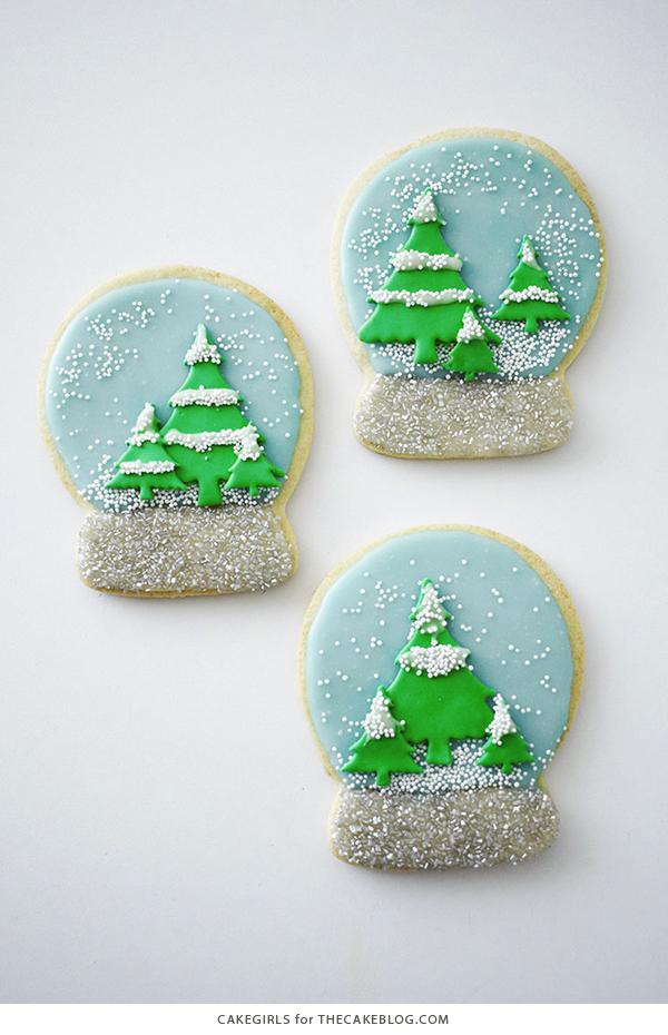 Snow Globe Cookies The Cake Blog