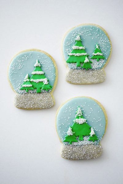 Snow Globe Cookies