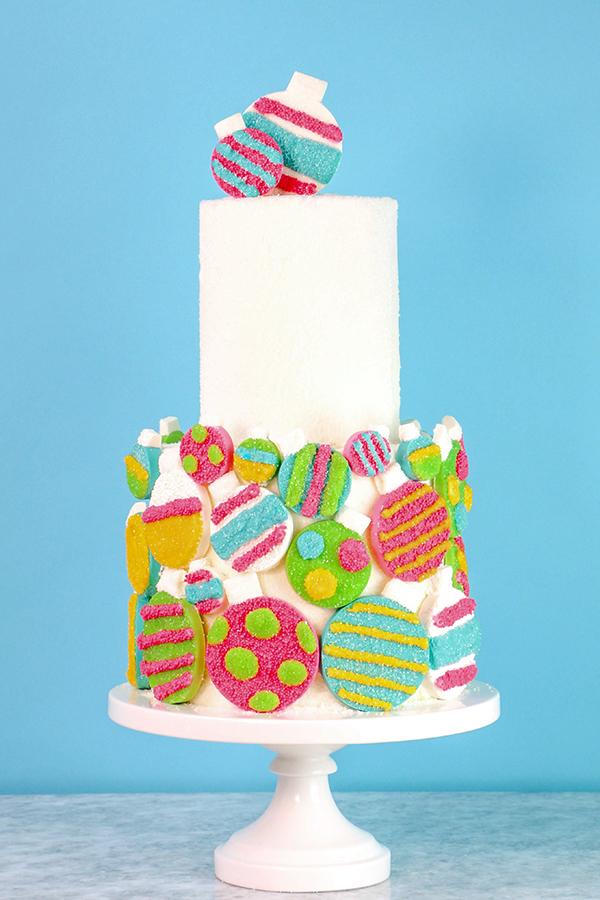Sprinkle Ornament Cake