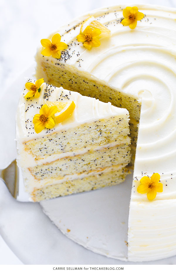 Gluten Free Orange Poppy Seed Cake Recipe