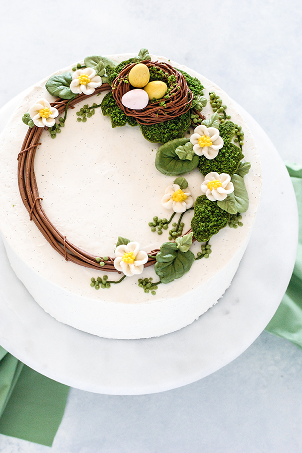 Spring Wreath Cake