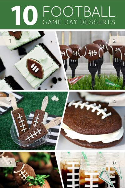 10 Football Party Desserts