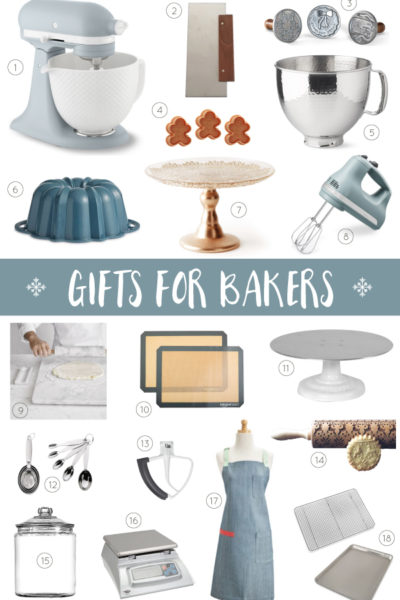 2018 Holiday Gift Guide for Bakers