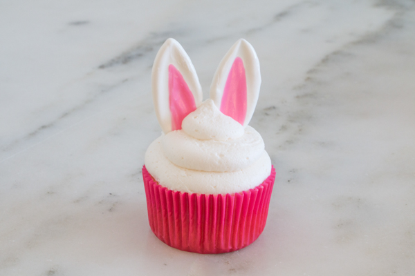Easter Bunny Cupcakes   by Erin Gardner for TheCakeBlog.com