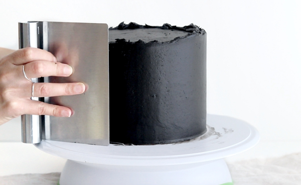 Witch Cauldron Cake - how to make an amazing Halloween cauldron cake that looks like bubbling witches' brew | by Whitney DePaoli for TheCakeBlog.com
